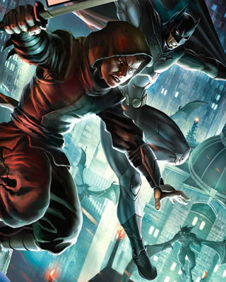 Animated Spring Wallpaper Dc Animation S Son Of Batman 9 Minute Preview Geektyrant
