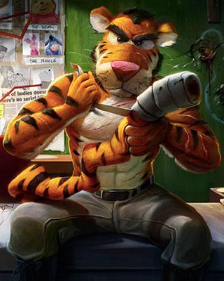 Tiggers Revenge By Dan LuVisi GeekTyrant