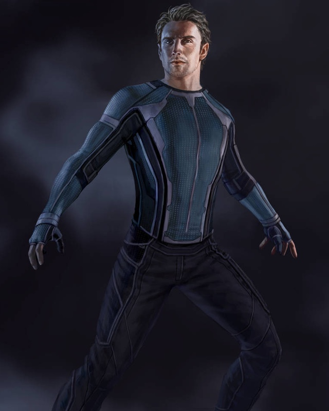 Alternate Designs for Quicksilver in Concept Art for AGE OF ULTRON — GeekTyrant