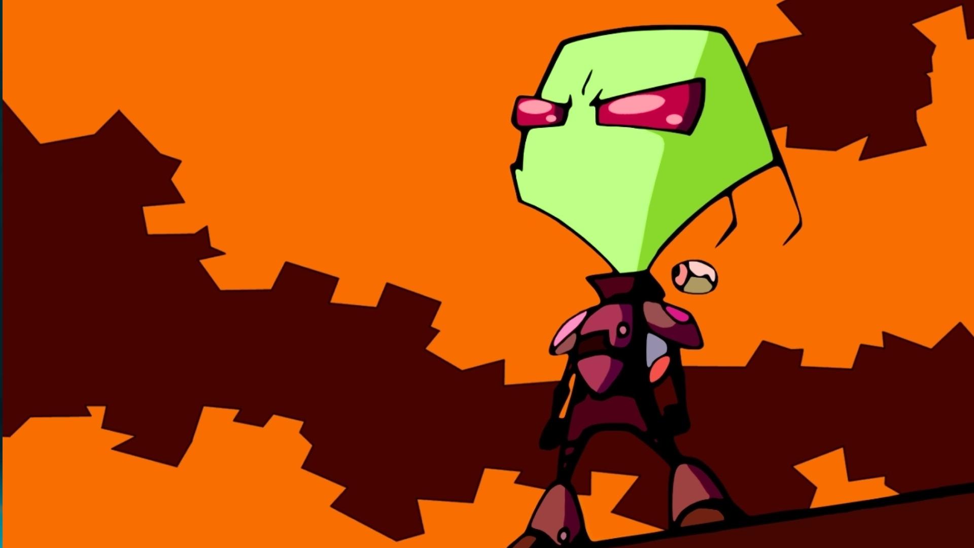 Animated Halloween Desktop Wallpaper Nickelodeon Is Developing An Invader Zim Animated Movie