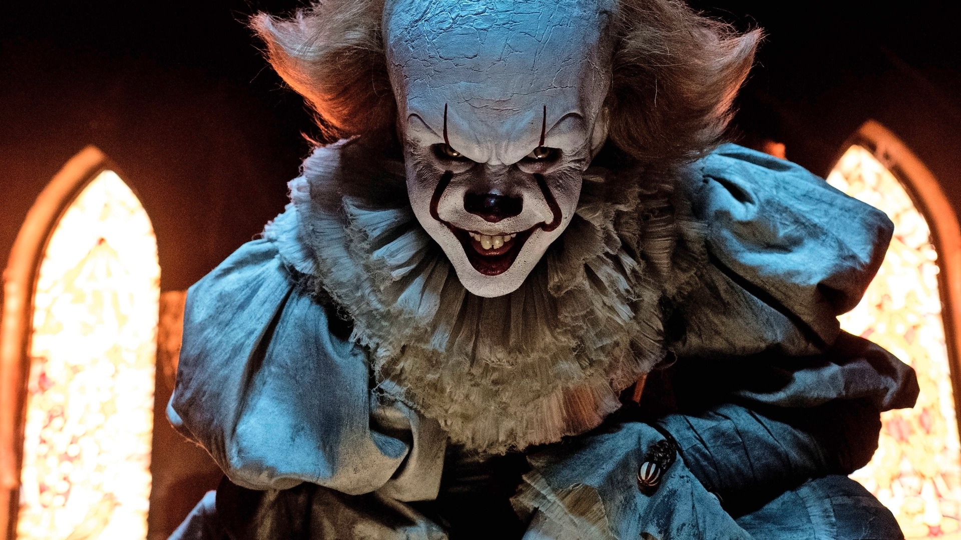 Geek Wallpaper Hd Another Sinister Image Of Pennywise The Clown In It Gives