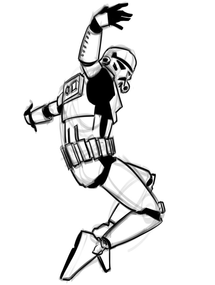 Breakdancing Stormtrooper Art and Video — GeekTyrant