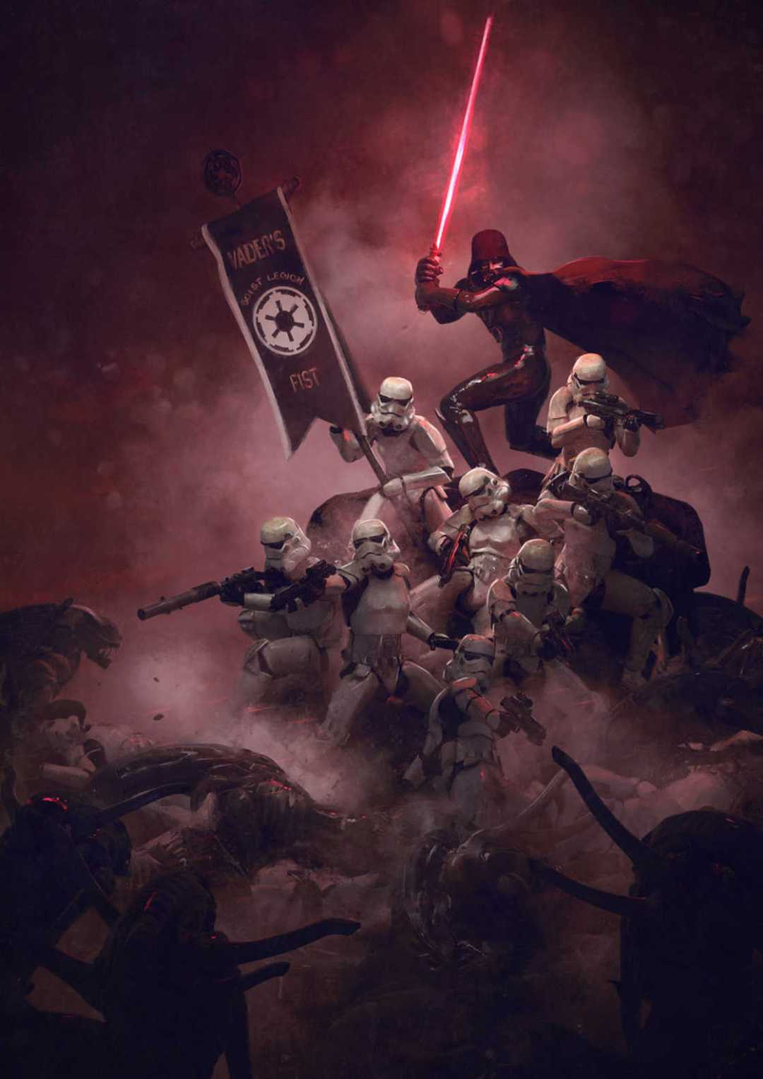 Guillem-H-Pongiluppi-star-wars-vs-aliens-3.jpg