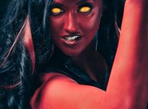 SHE-HULK Cosplay by Callie Cosplay - Green and Red ...