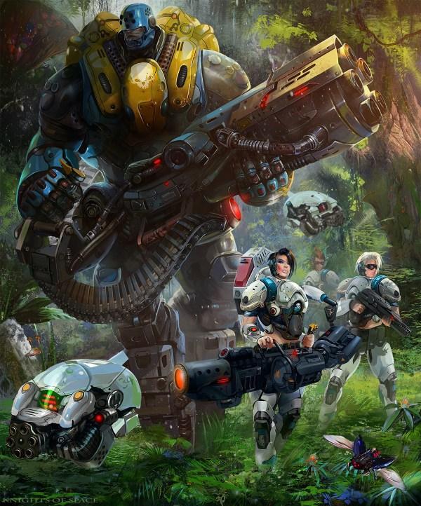 Striking Sci-fi Fantasy Art Created Dimas-ch Geektyrant