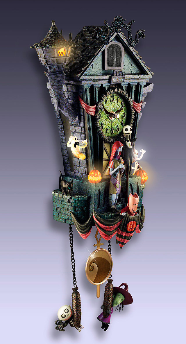 Magnificent NIGHTMARE BEFORE CHRISTMAS Cuckoo Clock