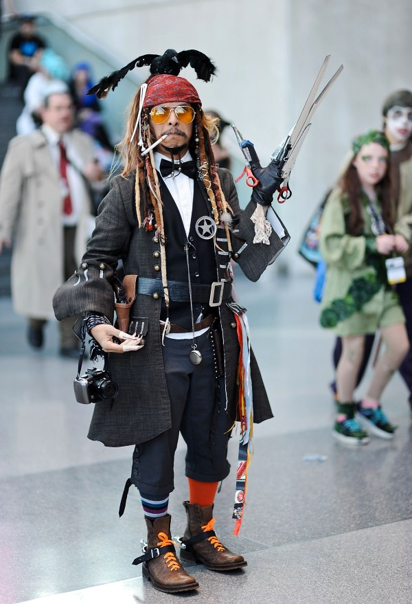 Johnny Depp Every Character in One Cosplay