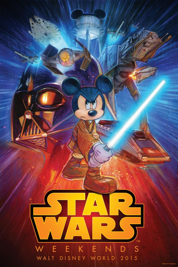 Disney Releases Star Wars Weekends 2015 Poster Art
