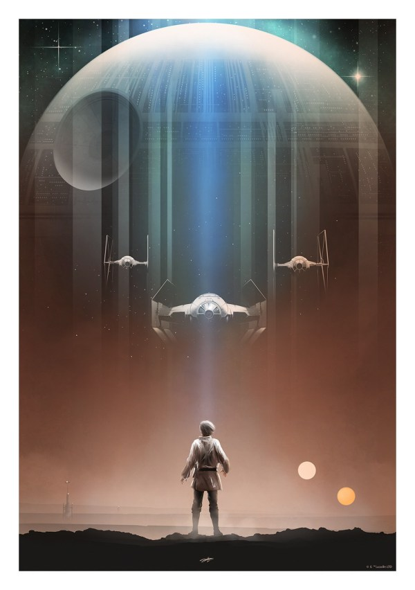 Riveting Star Wars Trilogy Posters Andy Fairhurst Geektyrant