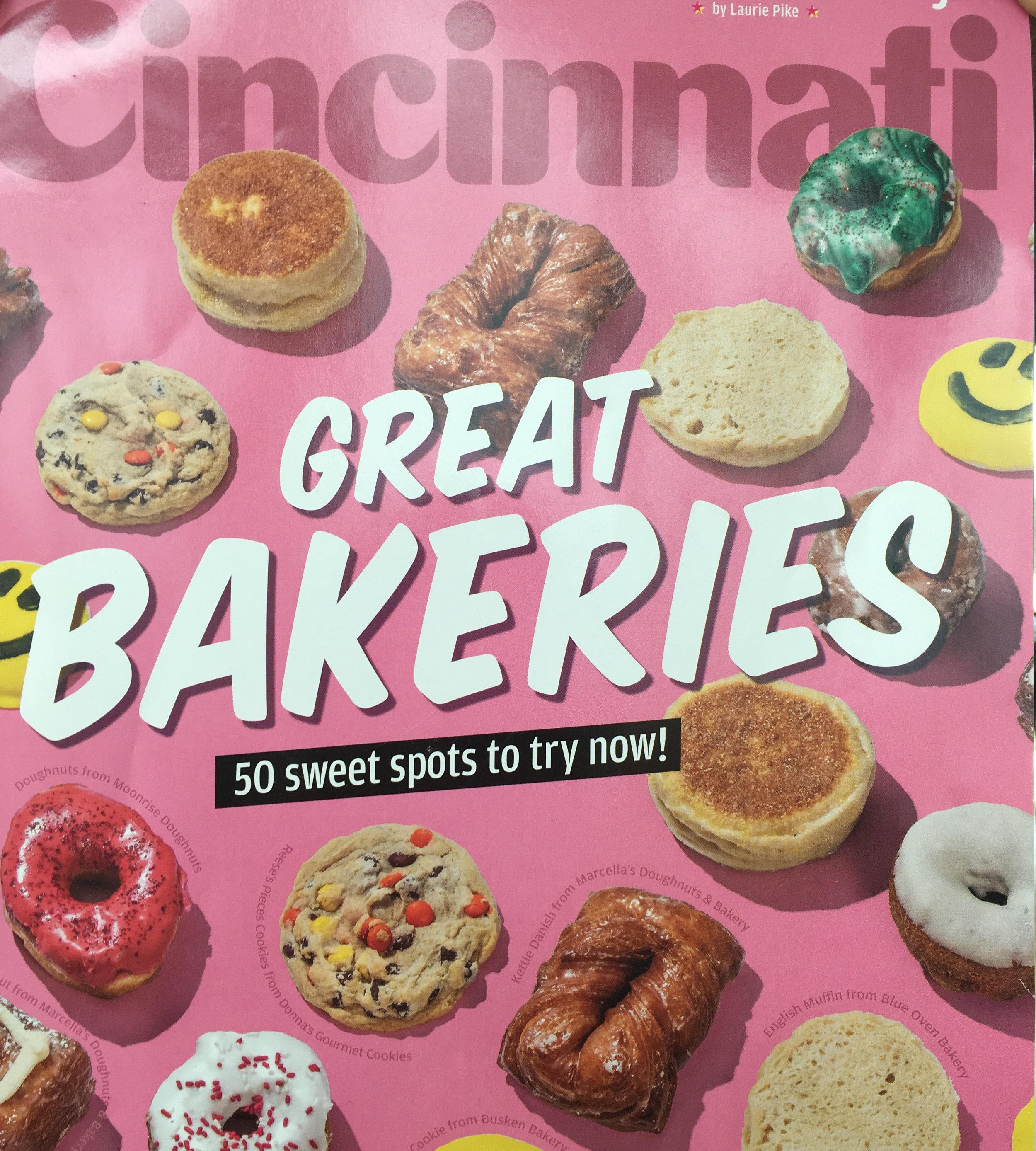 Cincinnati Magazine Great Bakeries Blue Oven