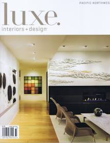 Luxe Interiors Design Magazine Cover