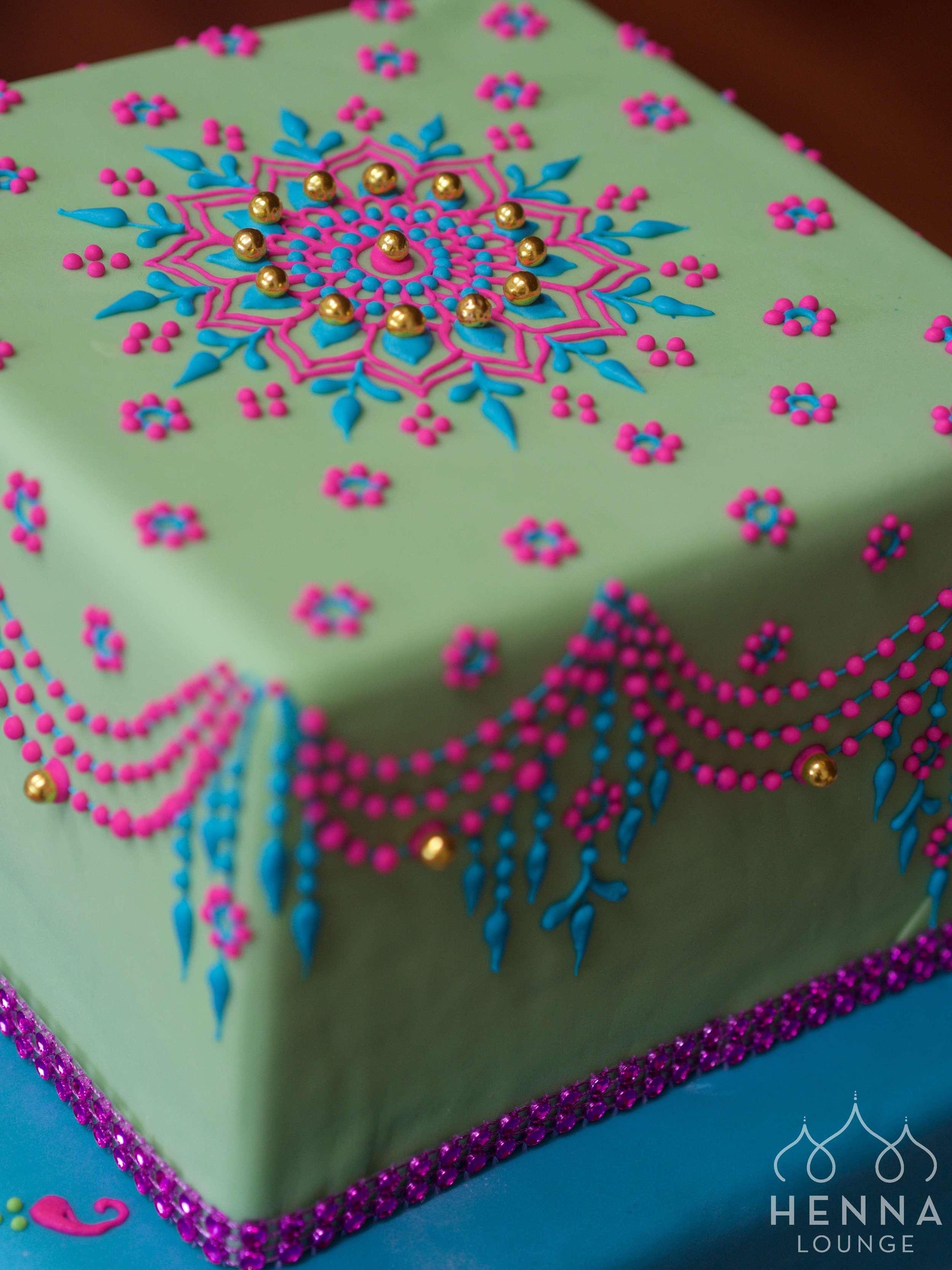 Mehndi Cakes By Henna Lounge Henna Lounge