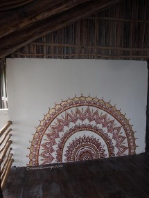 Mandala Painting On Wall