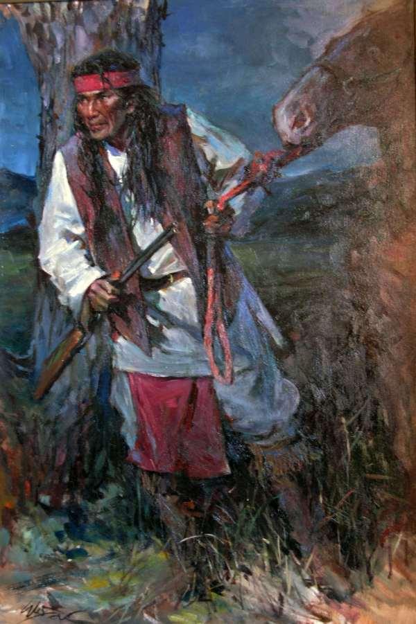 Apache Indian Art Paintings