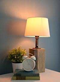 How to Make Your Own Lamp  Decor and the Dog