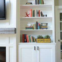 Living Room Cabinets Built In White Sets Decor And The Dog
