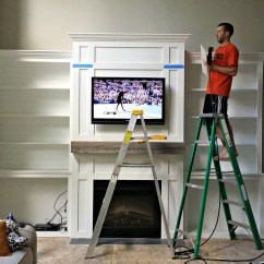 Living Room Cabinets Built In Small Table Sets Ins Tutorial Cost Decor And The Dog
