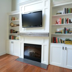 How To Decorate A Long Living Room With Fireplace At The End Paint Ideas Dark Furniture Built Ins Tutorial Cost Decor And Dog