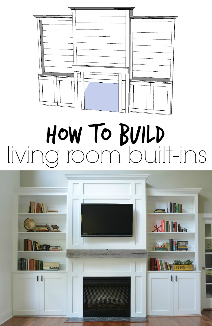 diy shelves in living room ex display furniture built ins tutorial cost decor and the dog how to build learn