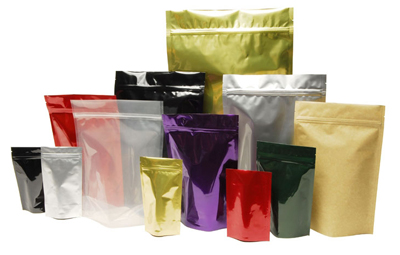 While snack pouches are usually not made out of recycled materials, certain components could be recycled.