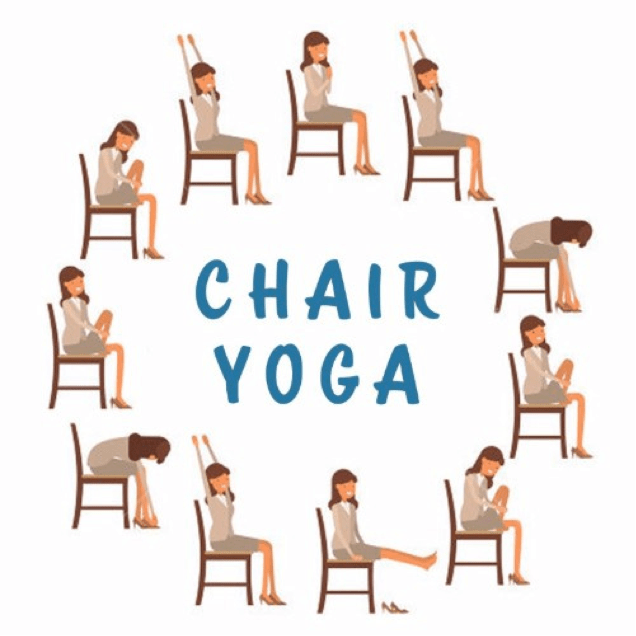 chair yoga for seniors dolly folding chairs with barbara mcadams — lil lack