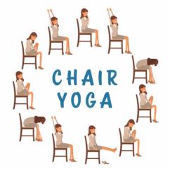 Chair Yoga For Seniors Glider Walmart Beginner With Barbara Mcadams Lil Lack