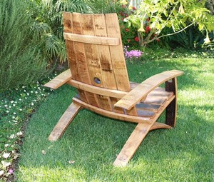 wine barrel chair swivel that locks domain home garden of napa valley
