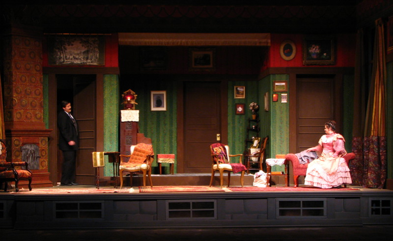 Lighting Design A Doll's House — Megan M Reilly