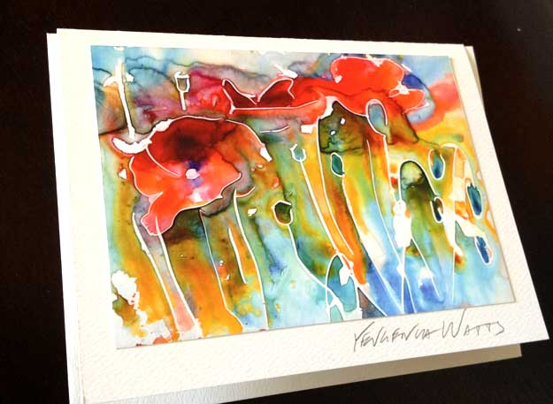How To Make Greeting Cards With Your Art Art By Yevgenia