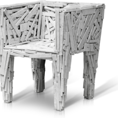 Campana Brothers Favela Chair Ergonomic Kijiji Design Favelization In White Marble 2013