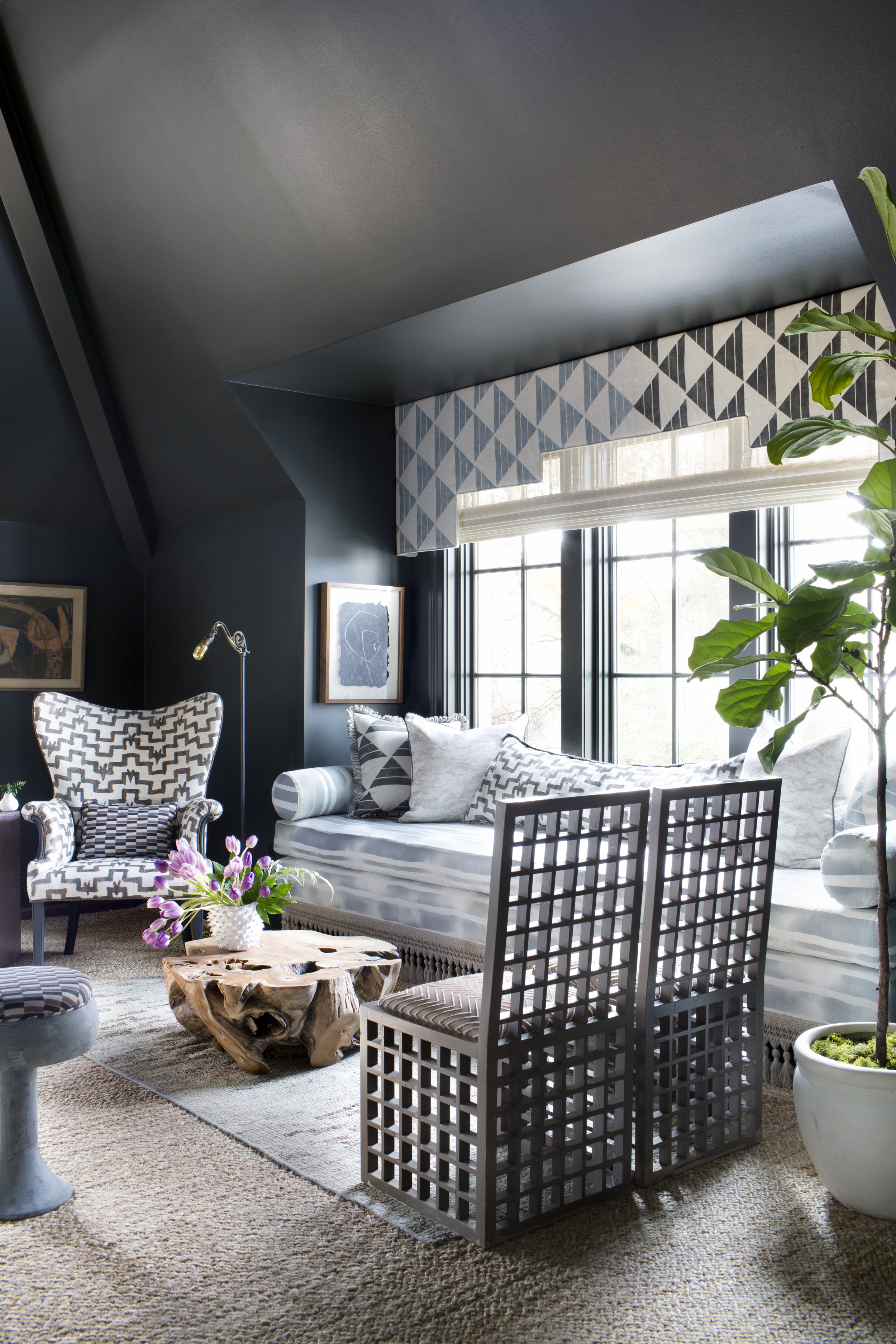 four club chairs in living room ideas for lighting apartment therapy the new 4 top trends cloth kind interiors