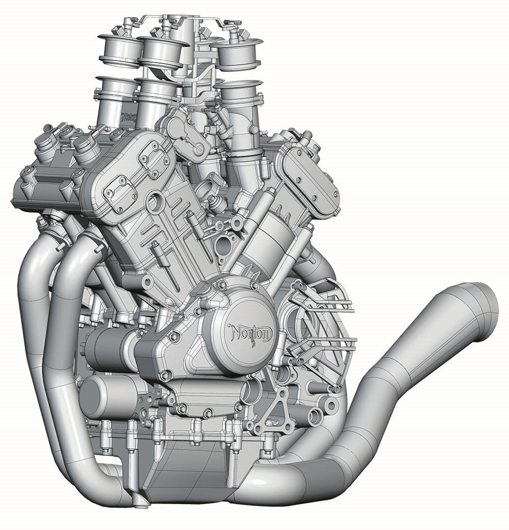 hight resolution of the motor compresses air and fuel at 13 6 1 compression ratio in cylinders splayed out in a 72 degree v angle perfectly splitting the compromise between