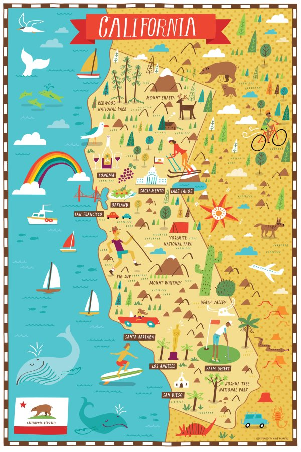 Illustrated Map Maker Nate Padavick