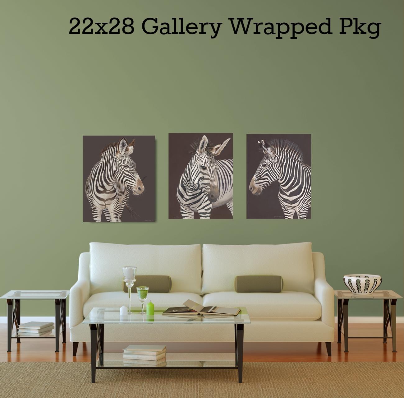 3 zebra print package
