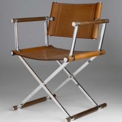 Pier 1 Leather Chair Sunbrella Covers Inspire File :: Director's Chairs — Crosstown Collection