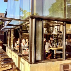 Metal Restaurant Chairs Luxury Accent Underbelly - Little Italy, San Diego — Experience