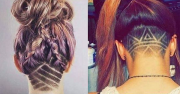 undercut hair tattoos vile company