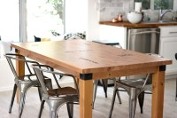 Kitchen Table Makeover + Caprese Spaghetti  Kristi Murphy ...