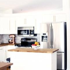 Brass Kitchen Hardware Custom Tables Diy Kristi Murphy Blog White With