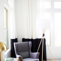Cheap Living Room Ideas Interior Design For Very Small Rooms No Sew Ikea Hack Curtains — Kristi Murphy | Diy Blog