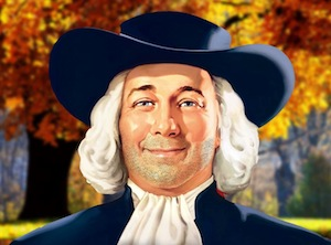 Larry, the Quaker Oats icon, is growing a mustache for Movember.