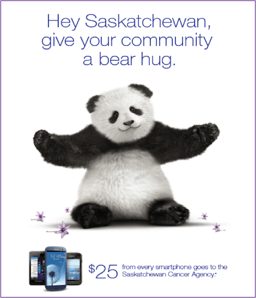 TELUS' 'TVs for Good' effort helps the company deliver customer conversions 40-50% above forecast.