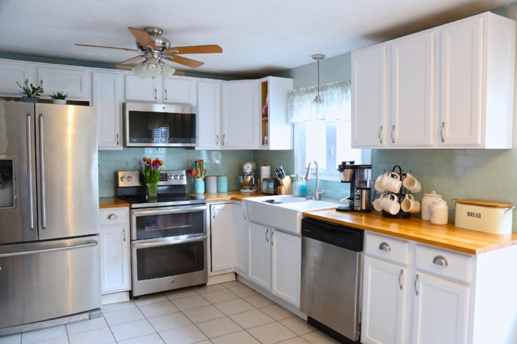 kitchen cabinet crown molding swanstone single bowl sink adding to your cabinets weekend craft painted no