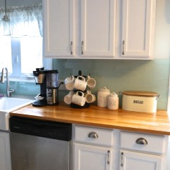 Kitchen Cabinet Crown Molding Copper Accents Adding To Your Cabinets Weekend Craft Painted