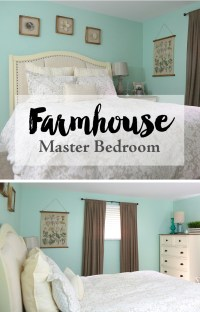 Farmhouse Style Master Bedroom  Weekend Craft