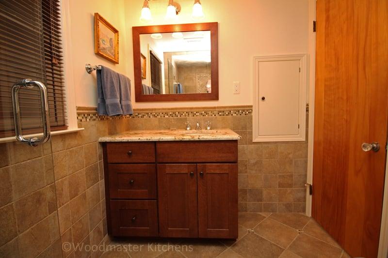 How To Install Bathroom Vanity Against Wall Bathroom