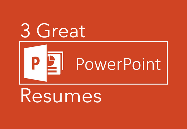 3 Great PowerPoint Resumes — CareerCloud