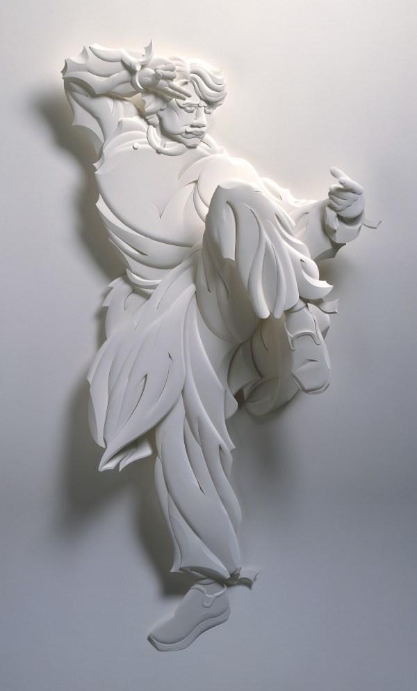 3D Paper Art Sculptures