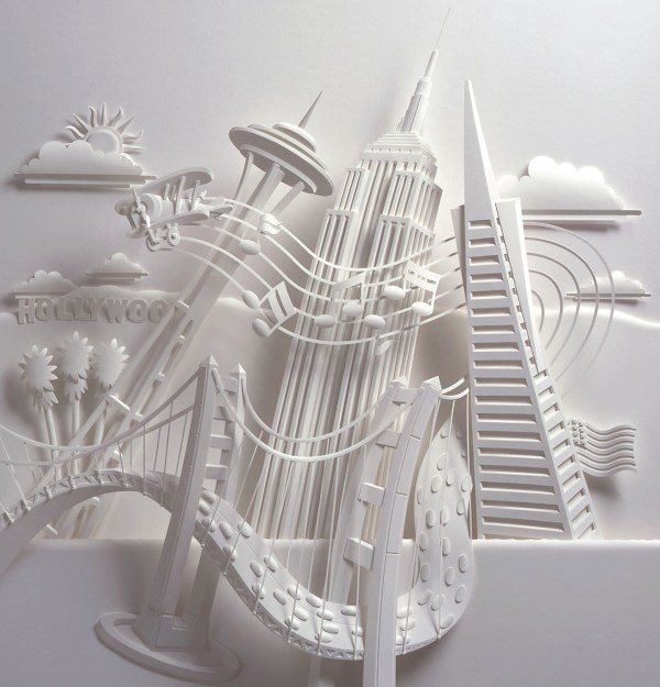 Jeff Nishinaka Paper Sculpture