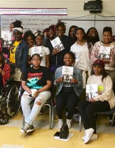Ballou story project writers visited excel academy also our lives matter inspires  shout mouse press rh shoutmousepress